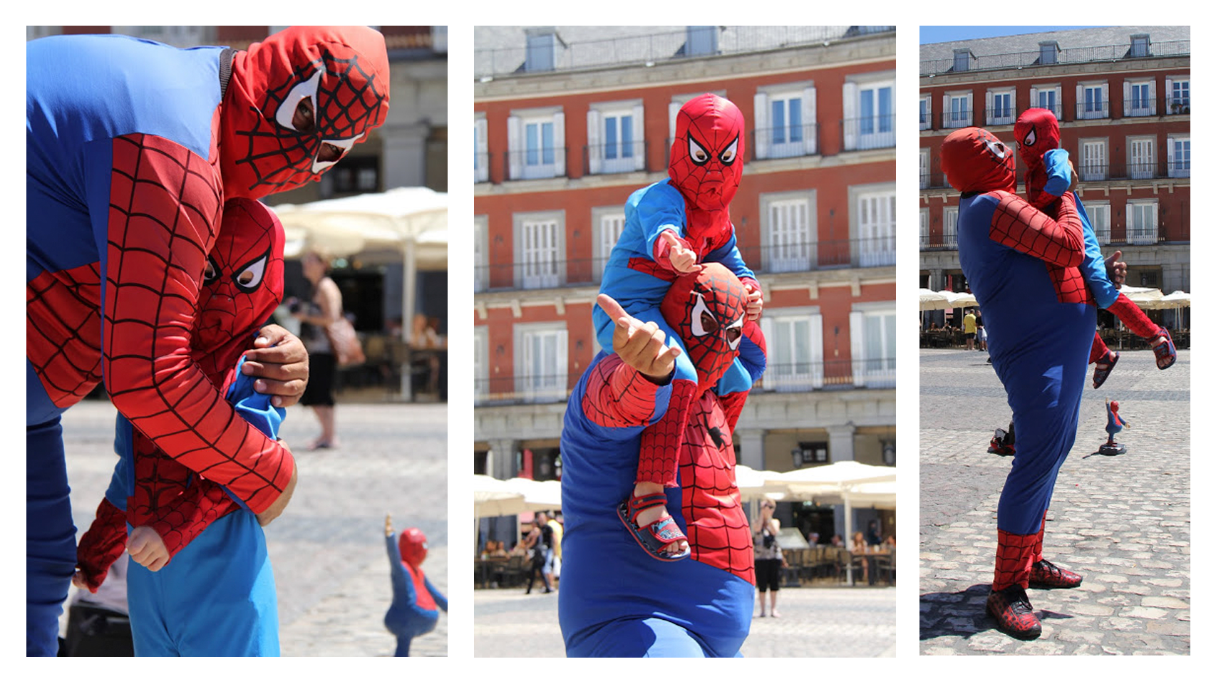 Spiderman-gordo-madrid