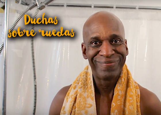 Ducha shower to the people