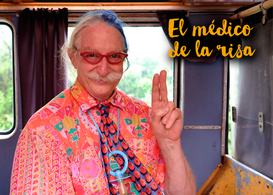 Patch Adams médico risa